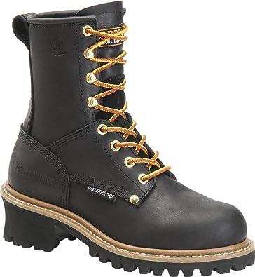 Women's Waterproof Steel Toe Work Boots
