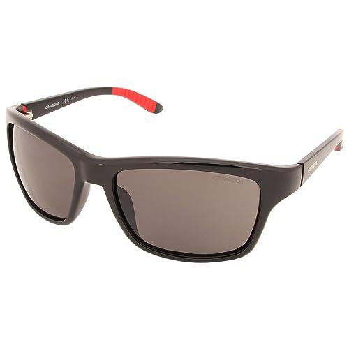 Carrera Unisex – Adulto 8013/S M9 Occhiali da sole, Nero (Shiny Black), 58