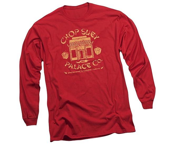 5057e85dde51 Amazon.com  Chop Suey Palace Co. -- A Christmas Story Long-Sleeve T ...