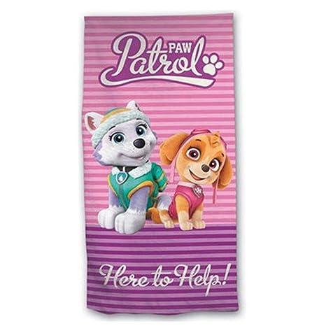 Toalla Patrulla Canina Paw Patrol Skye Everest Microfibra