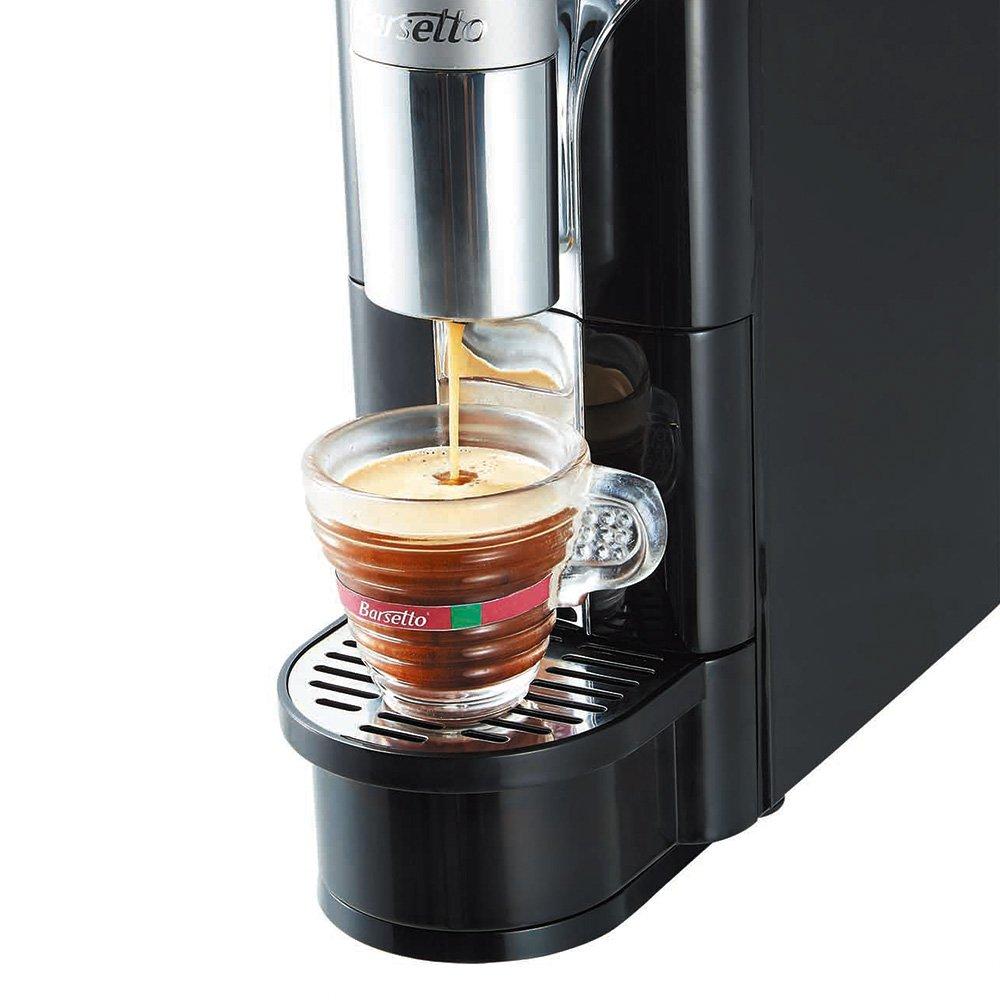 Coffee Brewer Barsetto Espresso Capsule Coffee Maker One Button Single Serve Machine for Home School Office by Barsetto (Image #9)