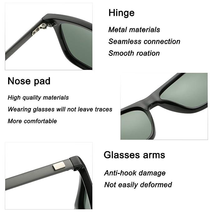 FEIDU Cocoons Fitovers - Gafas de sol polarizadas (talla XL): Amazon.es: Deportes y aire libre