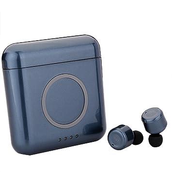 Goosoo Mini TWS X4T True - Auriculares inalámbricos con Bluetooth con Batería Recargable de 5200 mAh, Banco de Energía para Samsung, iPhone, Android, ...