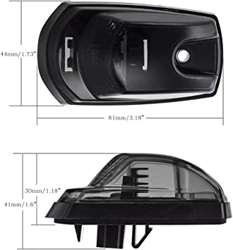 Partslink Number VW2551106 OE Replacement Volkswagen Passat Front Passenger Side Marker Light Assembly