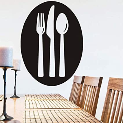 Chellonm Diseño Simple Cocina Etiqueta De La Pared Cuchara ...
