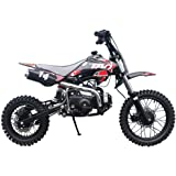 X-PRO 110cc Dirt Bike Pit Bike Kids Dirt Pitbike 110 Dirt Pit Bike,Red