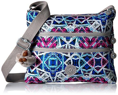 Kipling Alvar Printed Crossbody Bag, Brightside Sky