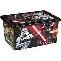 ColorBaby - Caja ordenación 35 litros, diseño star