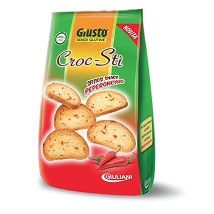 Sólo Croc-ETI aperitivo en 75 g de chile Sin Gluten