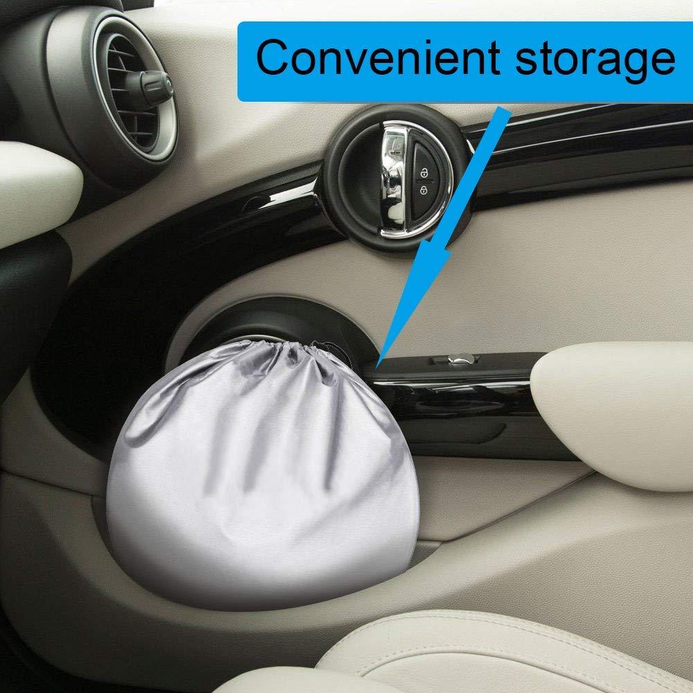 6pcs Car Sun Shade for Full Window,Car Front Side Rear Window Sun Protector Windshield Sun Block Cover