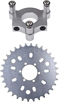 "36T Sprocket With 1.5/""Adapter 415 Chain 49cc  80cc 2 Stroke Motorized Bike"