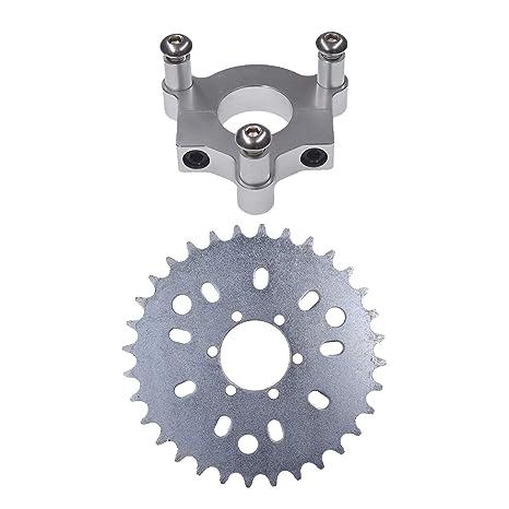 JRL 36 T Tooth Teeth Sprocket Adapter Fit 1 5 inch hub 415 Chain 49cc 50cc  66cc 80cc 2 Stroke Motorized Bike Motorised Bicycle