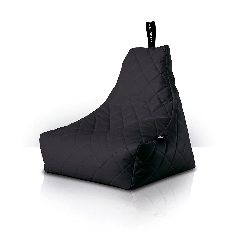 Mighty Quilted b-bagインドア&アウトドアBeanバッグ。More Than Just a Beanバッグこの – 9色から選択するのは非常に快適な家具(ブラック) by b-bag B008FOERO8
