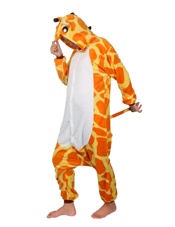 Unisex Adulto Cosplay Halloween Costume Animale Pigiama Tuta