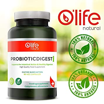 PROBIOTICDIGEST, Probioticos de Alta Calidad + Enzimas ...