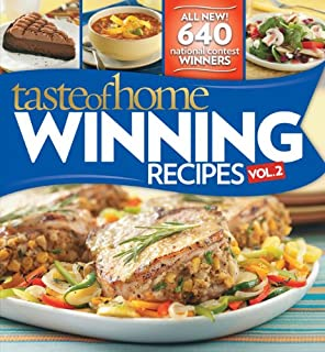 Taste of Home Winning Recipes, Vol. 2 (0898217539) | Amazon Products