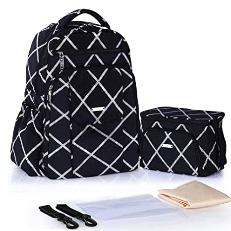 Bolsa de pañales grande Mochila para bebés Bolsas de pañales ...