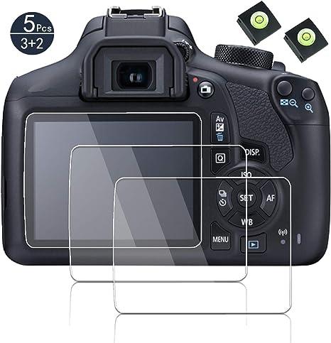 Protector de pantalla para Canon EOS Rebel T6 Kiss X80 1300d Rebel ...
