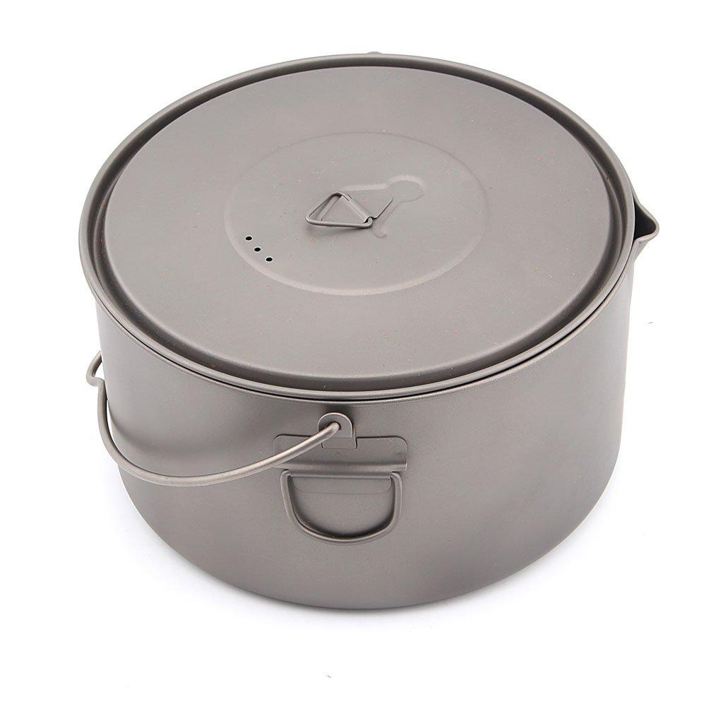 (トークス) TOAKS Titanium 2000ml Pot with Bail Handle POT-2000-BH B06XSNF6LM
