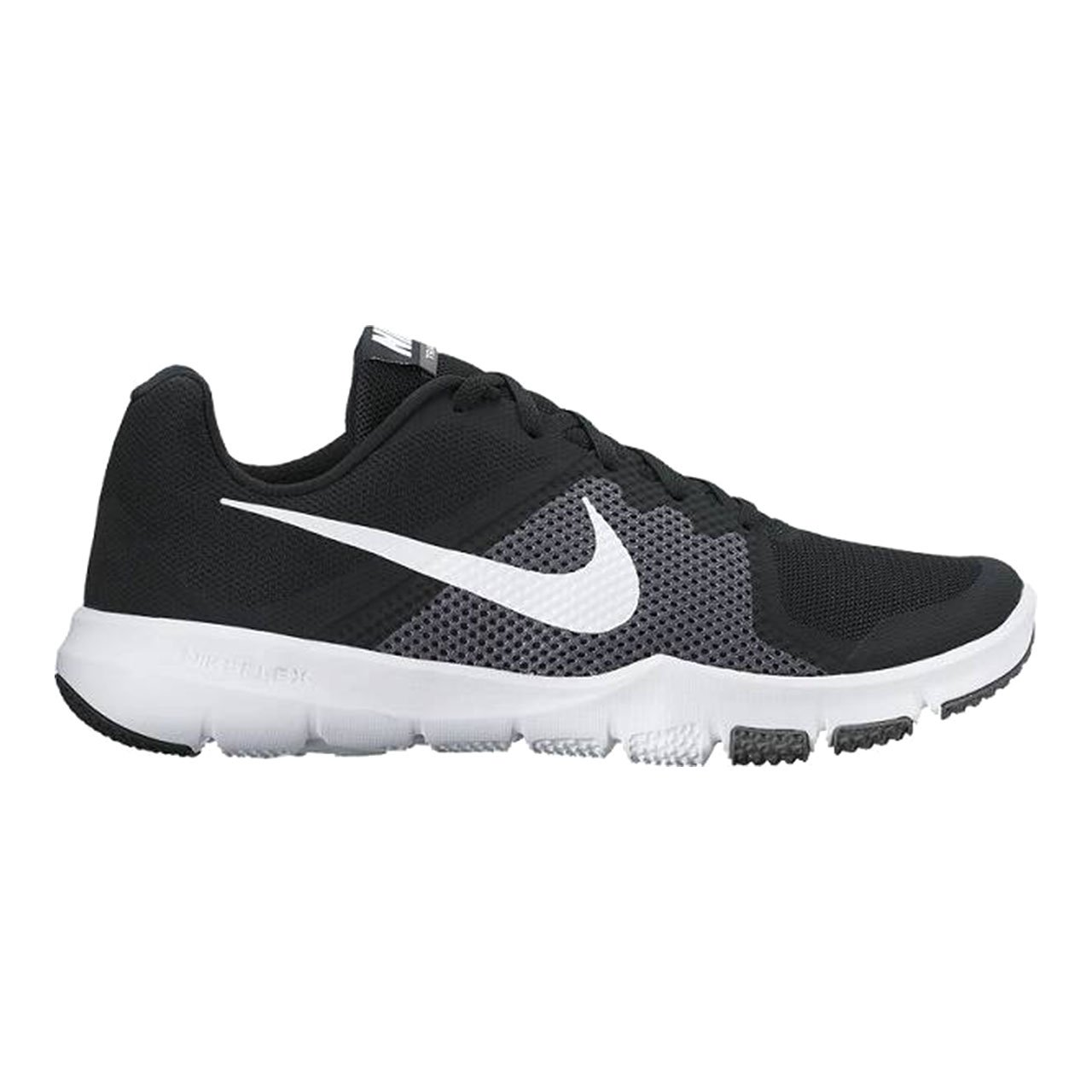 NIKE Men's Flex Control Cross Trainer Shoes B00279C1PY 14 D(M) US|Black/White/Gray-m