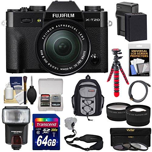 Fujifilm X-T20 Wi-Fi Digital Camera & 16-50mm XC Lens  with