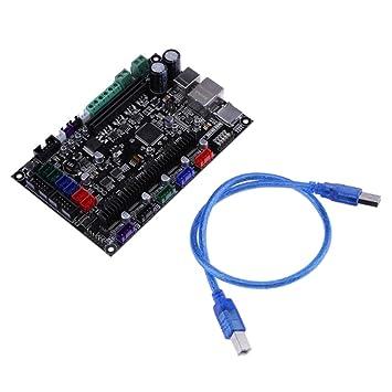 Sharplace Placa de Control Impresora 3d Mks Placa Base Sbase V1.3 ...
