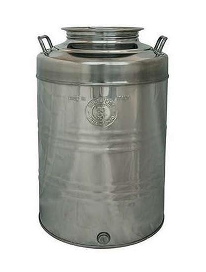 Bidón de aceite con capacidad para 50 litros de acero ...