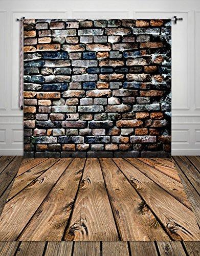 HUA PHOTO/® 150*300cm Pared de ladrillo de encargo piedra tel/ón de fondo de pared fotograf/ía telones ni/ños foto de fondo de vinilo fondos para la foto xt-506