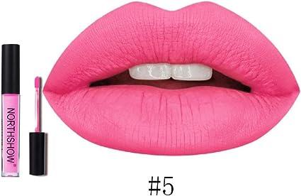 12 Colores Profesional Labial Mate Pintalabios Permanente de Maquillaje Larga Duracion para Niñas por ESAILQ F: Amazon.es: Belleza