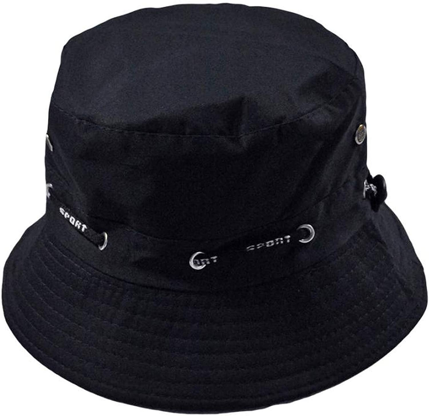 Men Women Unisex Cotton Bucket Hat Double Side Fishing Boonie Bush Cap Visor Sun Bucket hat Hip hop Gorras