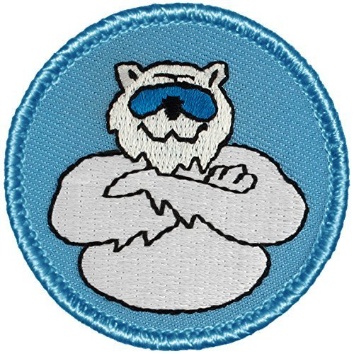 - Cool Polar Bear Patrol Patch (Blue) - 2