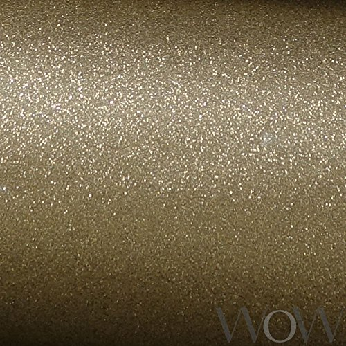Luxe Glitter Sparkle Wallpaper Gold - Windsor Wallcoverings WWC014 by Windsor Wallcoverings (Image #3)
