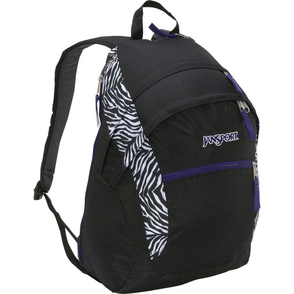 Wasabi Jansport Zebra Backpack