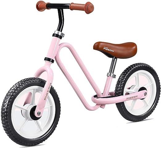 Bicicleta sin pedales Bici Bicicleta de Empuje para niños pequeños con asa Primera Bicicleta o Regalo de cumpleaños, Juguetes para Montar Seguros para niños de 2 años Bicicleta Ideal: Amazon.es: Hogar