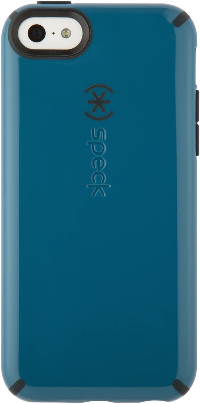 Speck Products CandyShell Case for iPhone 5c - Retail Packaging - Tahoe Blue/Charcoal Grey