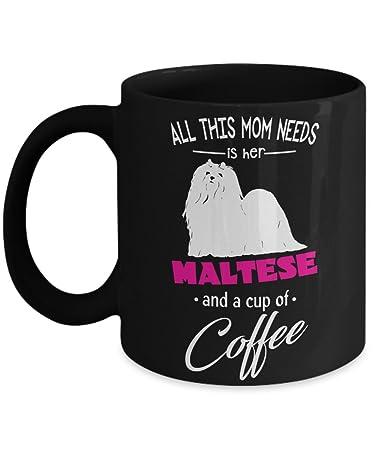 amazon com maltese mug maltese gifts perfect dog lovers gifts