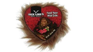 Toll Mini Heart Shaped Valentines Day Jack Links Beef Jerky Box, 0.625 Oz