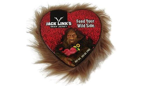 Mini Heart Shaped Valentines Day Jack Links Beef Jerky Box