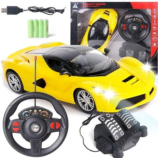 toy car steering wheel amazon