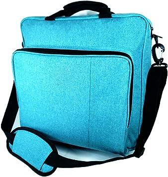 PS4 Pro Funda de Transporte, Azul PS4 Estuche de Viaje para Juegos, portátil, Ps4, Ps4 Pro, Ps4 Slim, Ps3, Bolsa de Viaje para Ps4 Game Accessories Controller Storage: Amazon.es: Electrónica