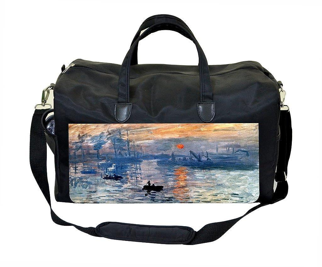 Claude Monet Impression Sunrise Therapist Bag
