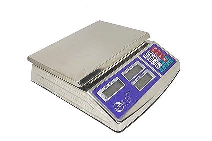 Bilancia Elettronica Professionale Da Banco In Acciaio Inox Digitale 40 Kg 2gr