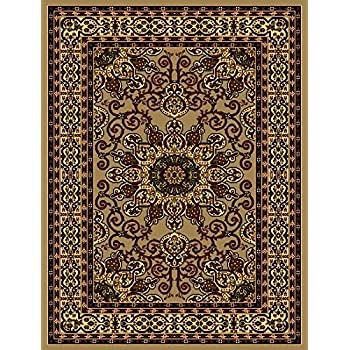 Amazon Com Traditional Area Rugs 8x10 Clearance And 5x7