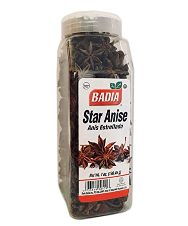 2 PACK-Whole Star Anise Dried Spices Seed Anis Estrellado Entero 2x7oz