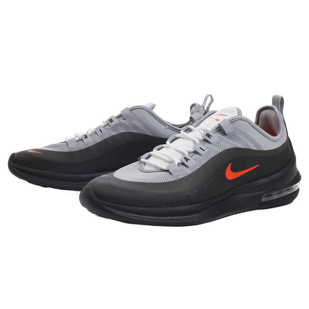 NIKE Men's Air Max Axis Running Shoe B075ZXT4RX 8.5 D(M) US Wolf Grey/Total Crimson-black
