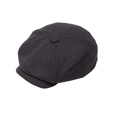 6ac59dd54563 Rydale Men's Peakie Baker Boy Cap Gent's Country Style Flat Hat Cap: Amazon. co.uk: Clothing