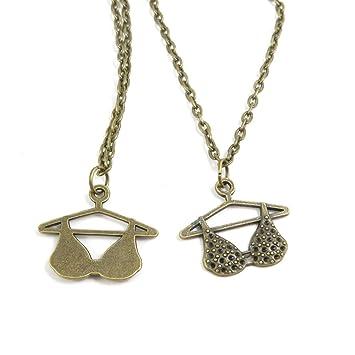 Bronce antiguo Fashion Jewelry Making charms collar para ...