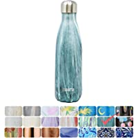 MIRA Stainless Steel Vacuum Insulated Water Bottle | Leak-Proof Double Walled Cola Shape Bottle | Keeps Drinks Cold for 24 Hours & Hot for 12 Hours