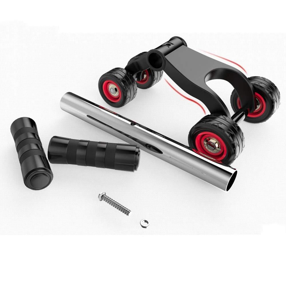 Olydmsky Wheel Bauchtrainer Gesundheit-Bauch-Rad ABS Runden Home Übung Ausrüstung Walze, die Liegestütze Bauch Rollen