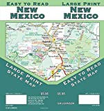 New Mexico Large Print, New Mexico State Map